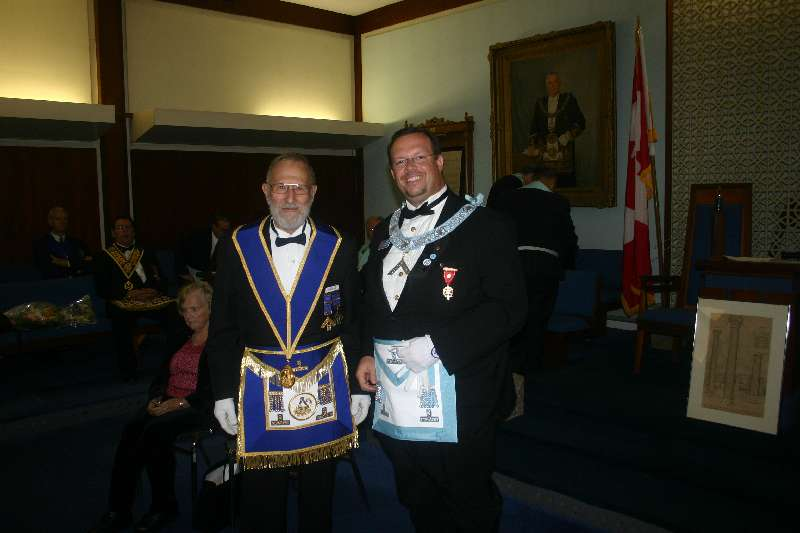Reception for V.W.Bro Eugene De Beaupre