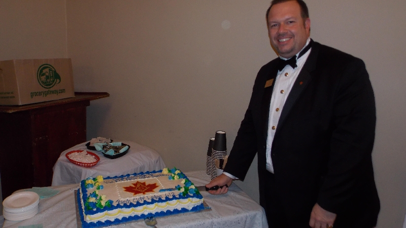 Reception for V.W.Bro Peter J. Sialtsis