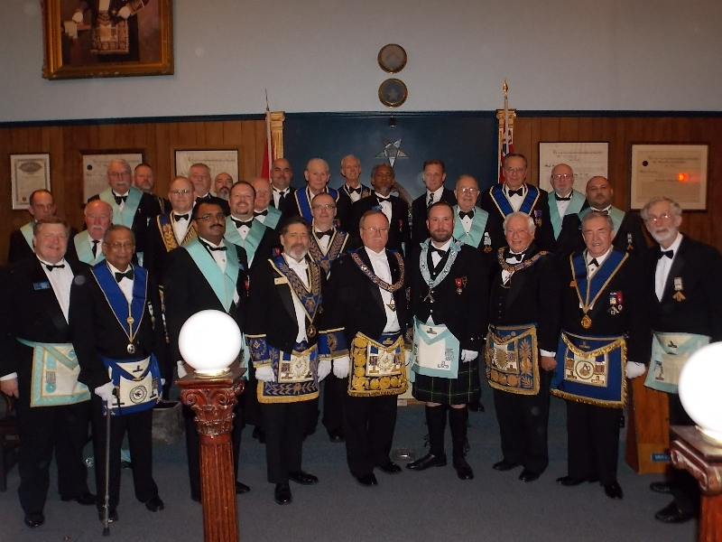 2012 Officers and Installing Board