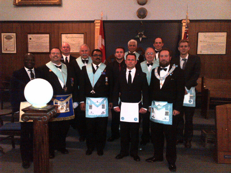 2nd Degree - Bro. Capt. Raphael MacKenzie - June 14th, 2013