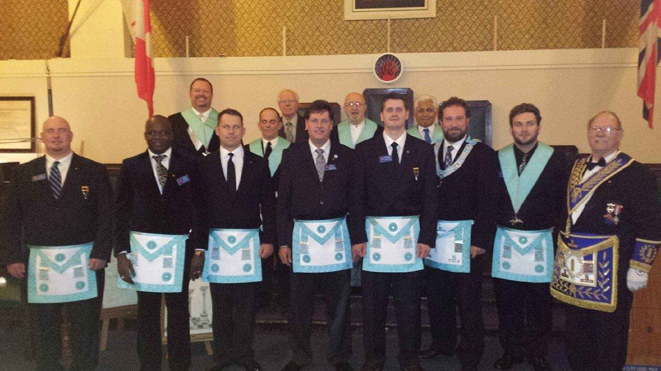 Bros. Steve Stinson (Proving), Moussa Traore, Raphael MacKenzie, Martin Kotchi and Matthew Kotchie - 3rd Degree