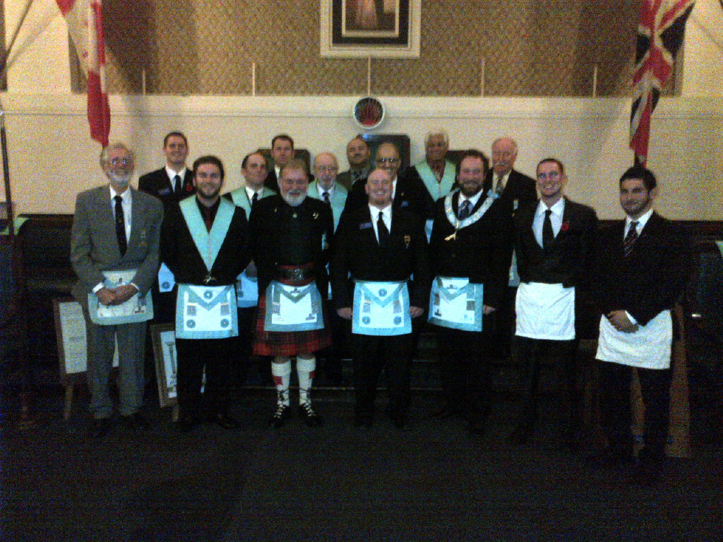 October 25th, 2013 - Bro. Steve Stinson 3rd Degree