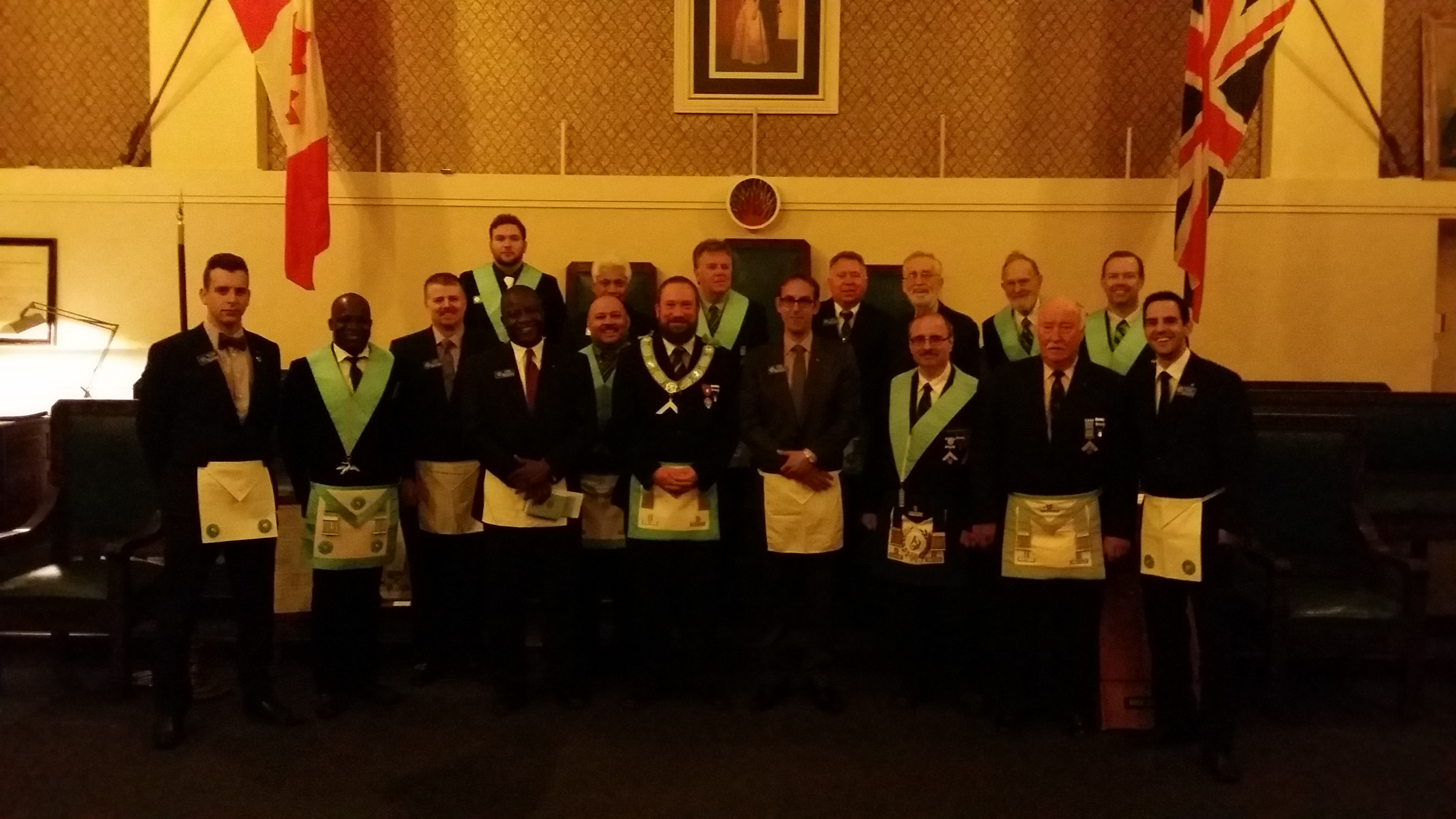 Bro. James Cooper (Initiation - May 23rd, 2014)