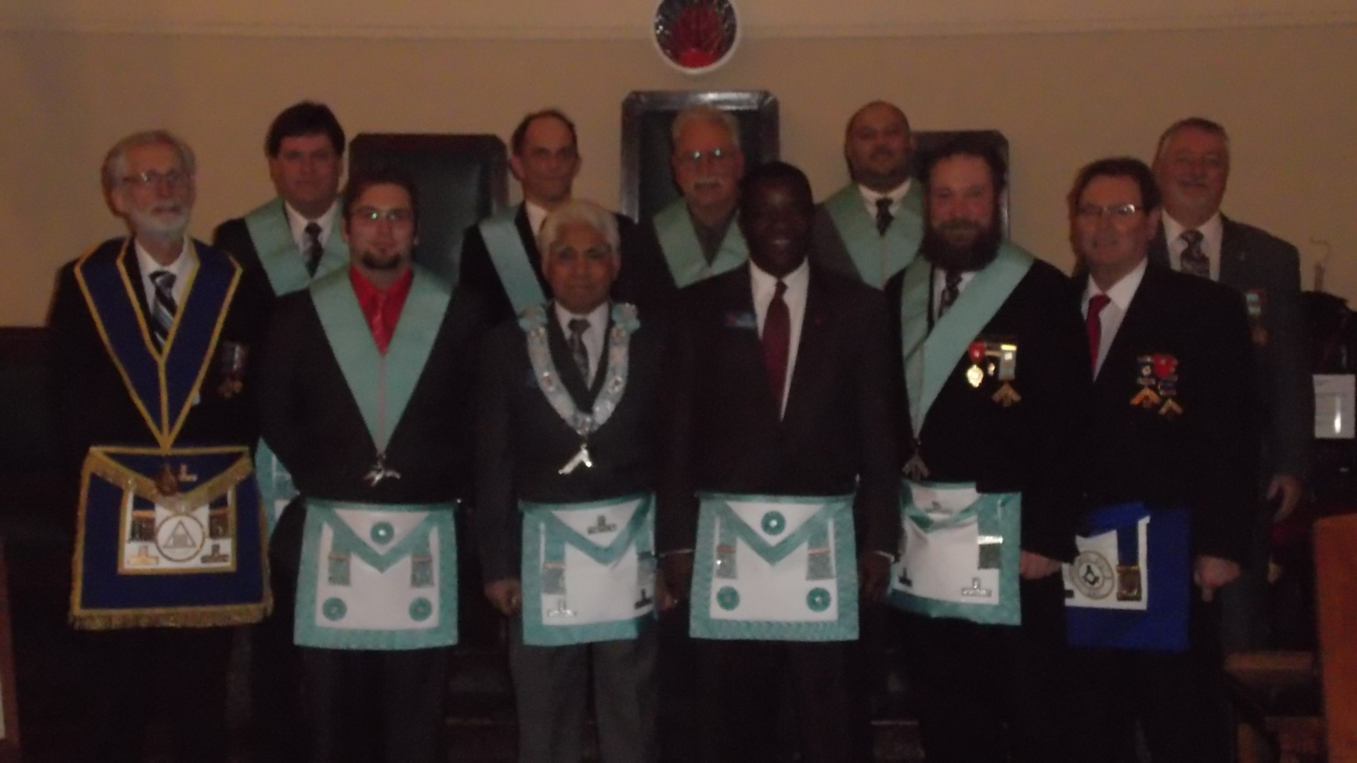 Bro. James Cooper - 3rd Degree